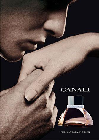 Campagna stampa di lancio del profumo CANALI, by Eurocosmesi. La foto è di Gastel.