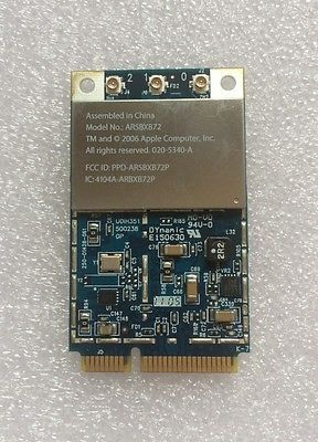 NEW Apple Mac Book Pro Airport Extreme Wireless N WIFI Card Atheros AR5BXB72