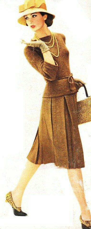 Charm. Magazine 1959 - love everything! outfit is gorgeous and the shoes, hat and bag are just fabulous <3