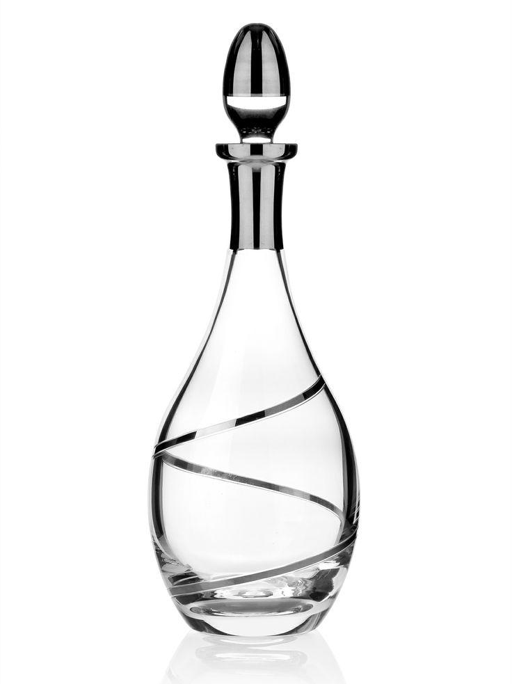 Bernardo Fashion Karaf / Wine Pitcher #bernardo #tabledesign #glass