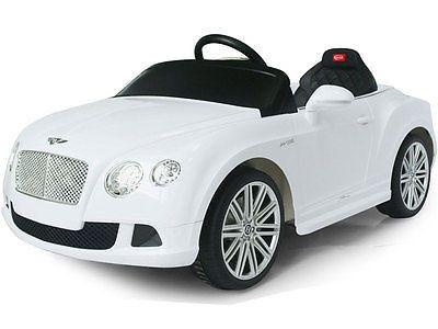 Rastar Bentley GTC 12V Ride On Kids Battery Power Wheels Car RC Remote