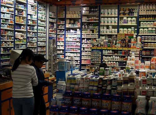 Health food shop, Eaton Centre, Toronto, ON, Canada by Lancastrian, via Flickr