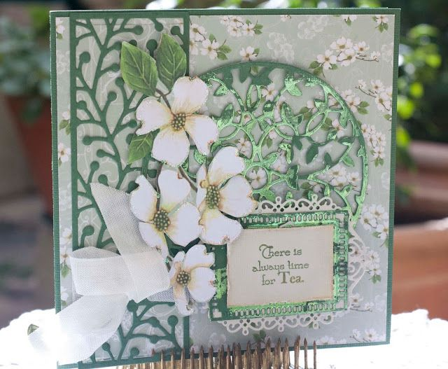 Artdeco Creations Brands: Enchanted Tea Party Card Collection by Denise Boddey