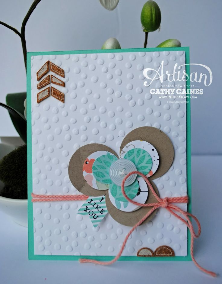 Leadership Display Boards Day 6: Sale-a-bration PAPER! by Cathy Caines @Stampin' Up!