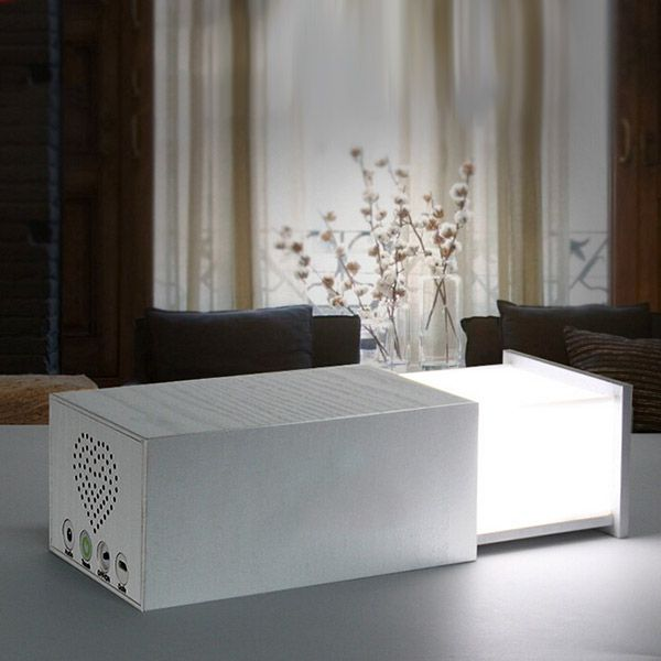 Wireless LED Bluetooth Music Speaker Table Lamp Touch Dimmable Light