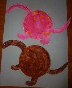 paper plate dinosaur craft idea (2) & The 10 best Paper plate dinosaur craft images on Pinterest | Paper ...