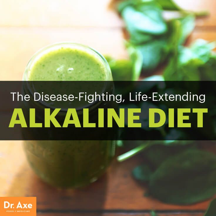 Alkaline Diet: The Key to Longevity and Fighting Chronic Disease? | DrAxe.com | Bloglovin'