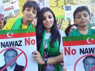 Protest:PAKISTAN's Political Crisis Carries Overseas to US. YOUTHS  GONAWAZGO - GONAWAZGO