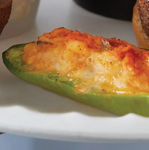 We dare you to keep your hands off these Chicken-Stuffed Jalapenos from Seasons. They are totally addictive. Make it easy on yourself and use a rotisserie chicken from the Hy-Vee Kitchen.
