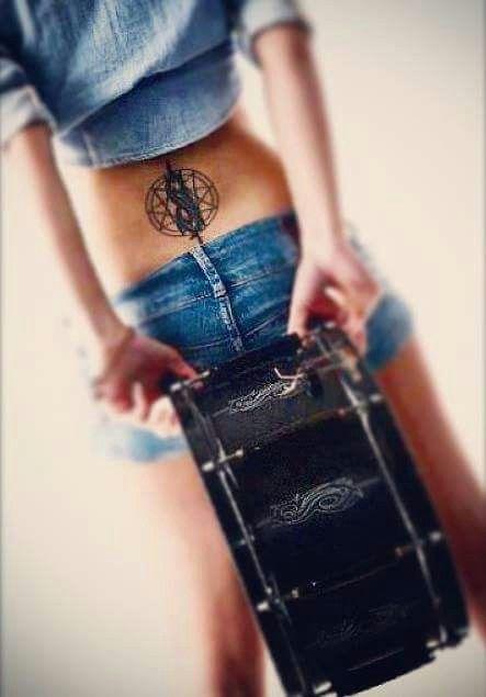 Slipknot #Slipknot #Tattoo That's my type of woman ❤