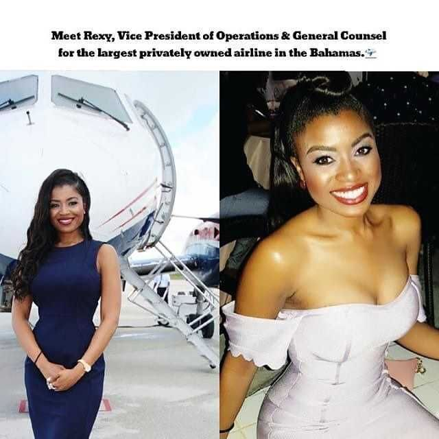 Meet Rexy Vice President of Operations & General Counsel for the largest privately owned airline in the Bahamas.-
