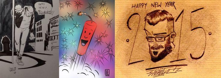 Eccoci qua, anche quest'anno, a ripensare a come sono passati per noi gli ultimi dodici mesi, a fare progetti per quelli a venire - http://c4comic.it/2014/12/29/three-4-comic-happy-new-year/