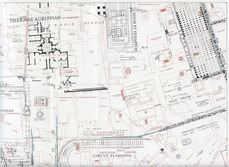 59 besten roma  maps of the ancient city bilder auf