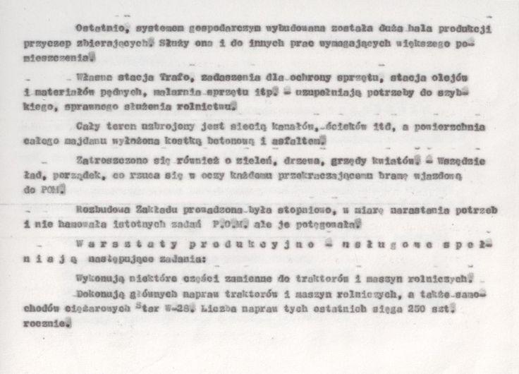 Z kroniki POM 7 (kopia maszynopisu)