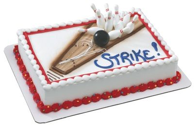Bowling Party Cake Decorating Kit (1) at Birthday Direct