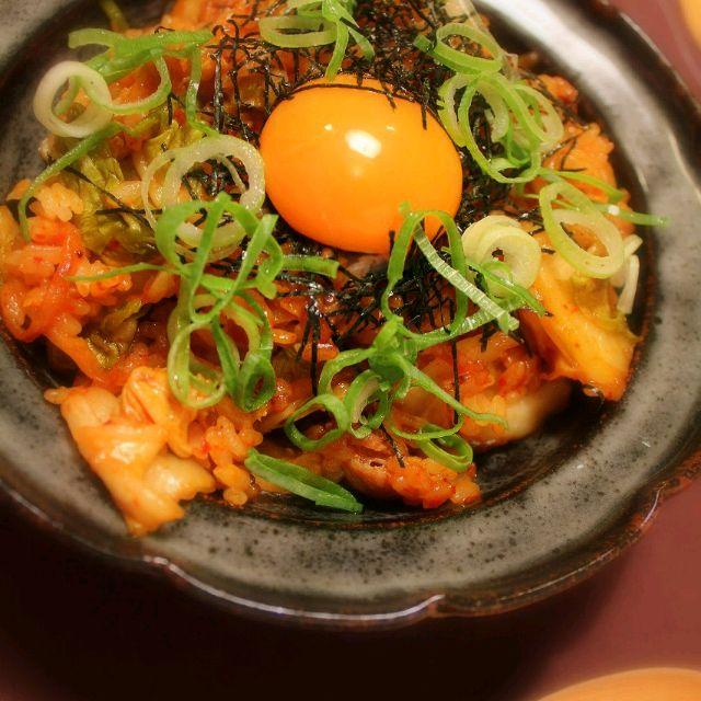 男飯!!(*`Д´*)9 - 140件のもぐもぐ - 石焼きビビンパに見えるけれど豚キムチ炒飯 by chibimega