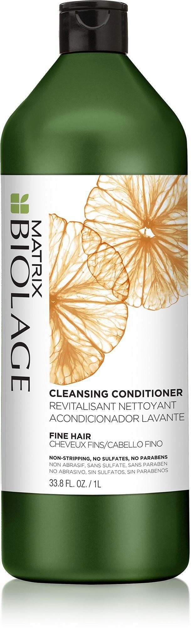 Matrix Biolage Cleansing Conditioner For Fine Hair 1000ml,