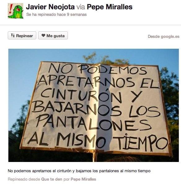 Pancartas en manifestaciones: 49 muestras de humor e ironía en protestas en España (FOTOS)