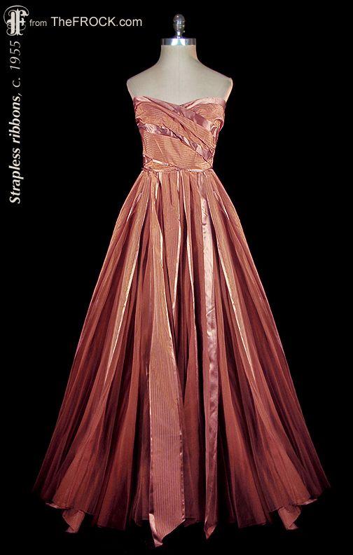 Vintage 1950s Evening Gowns – fashion dresses