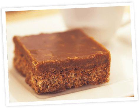Caramel Flake Squares | Healthy & Gluten Free Recipes