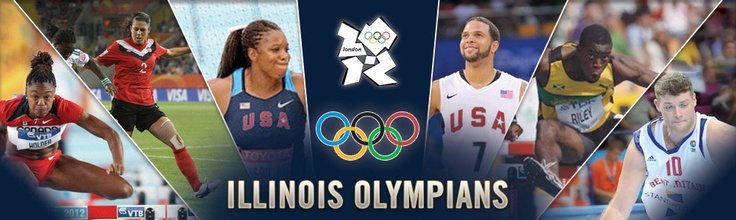Six former Fighting Illini will be competing at the London 2012 Olympic Games, which start today with women's soccer matches! Good luck to Illini Robert Archibald (Great Britain, Basketball), Nikkita Holder (Canada, Track & Field), Gia Lewis-Smallwood (USA, Track & Field), Andrew Riley (Jamaica, Track & Field), Deron Williams (USA, Basketball) and Emily Zurrer (Canada, Soccer)!