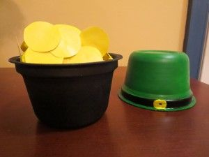 Simple St. Patrick's Day Crafts with Recycled Yogurt Cups
