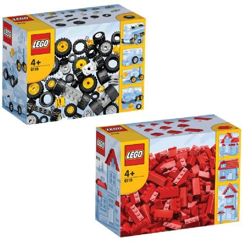 Lego Wheels To Roof Bundle - 6118 & 6119