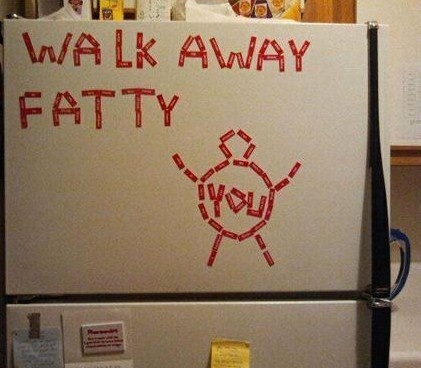 i need to start doing this...maybe it will help me stay out of the fridge when im not even hungry haa