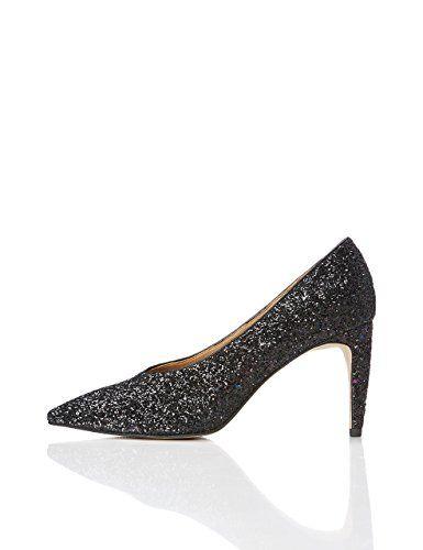 f2083368602b FIND Zapatos de Tacón con Empeine Alto Mujer Ver Chollo  http   amzn.to 2n5GZ1C Materi…