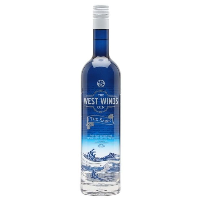 An Australian gin, made using a blend of local and imported botanicals. The West Winds Gin The Sabre presents a traditional British style gin led by the dominant juniper and classic citrus note