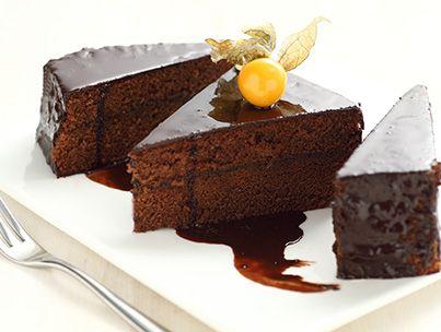 Glassa al cacao per torte