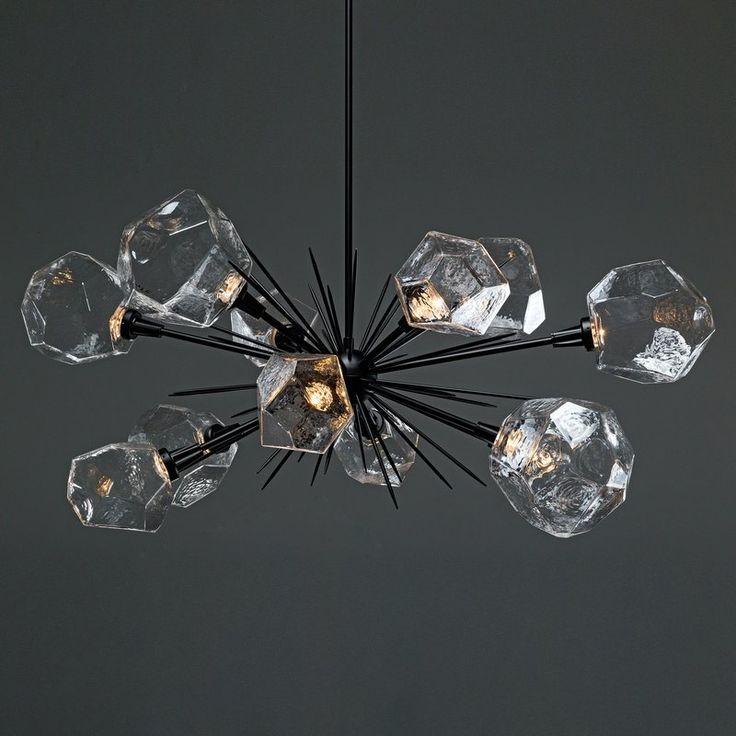 Aalto Oval Starburst 12-Light Chandelier
