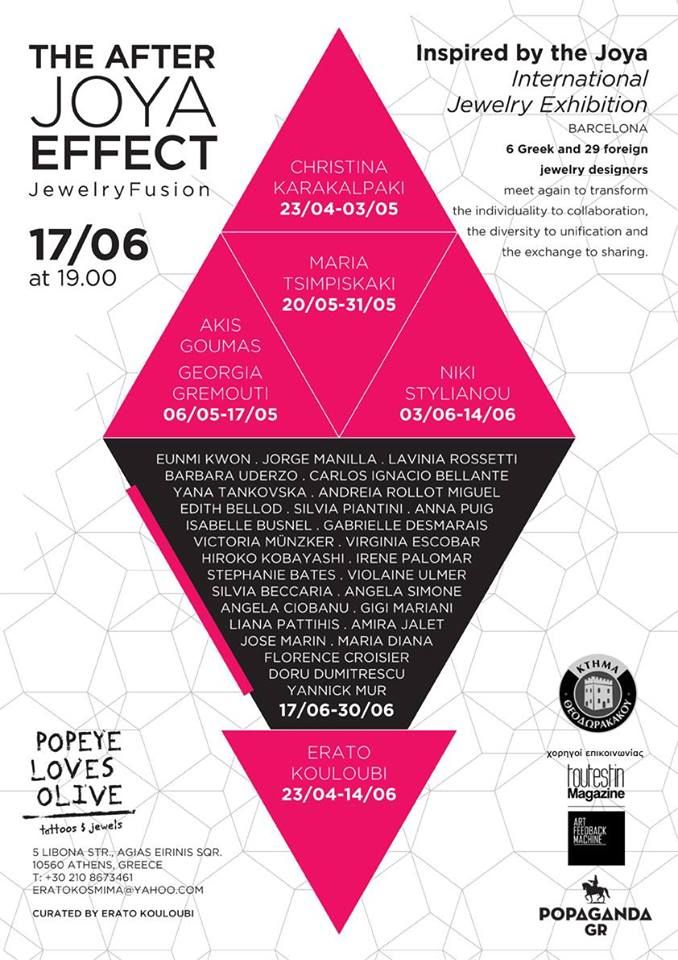 The after - JOYA effect  - 17-30 june 2014