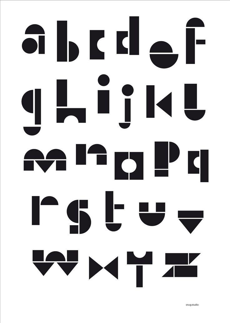 snug.abc poster