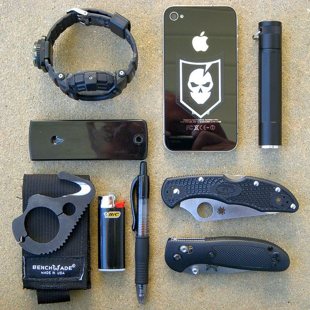 My EDC 'Black Kit' by bfgreen, via Flickr (Image Only Pin- 08/20/2013)