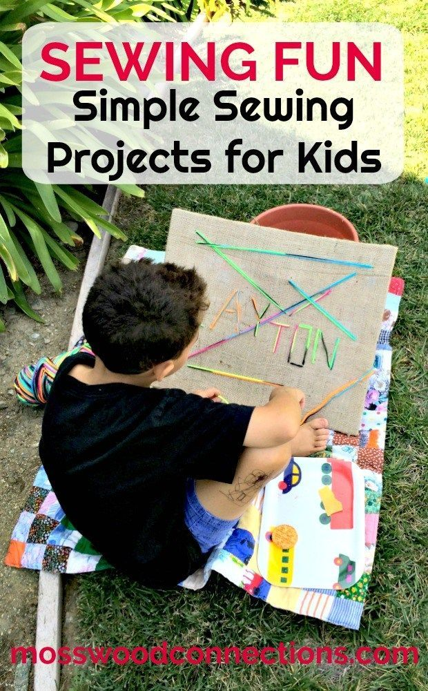 Sewing For Fun; Simple Sewing Projects for Kids