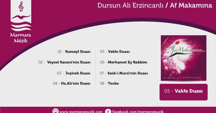 Dursun Ali Erzincanlı - Vakfe Duası | İzlesene.com