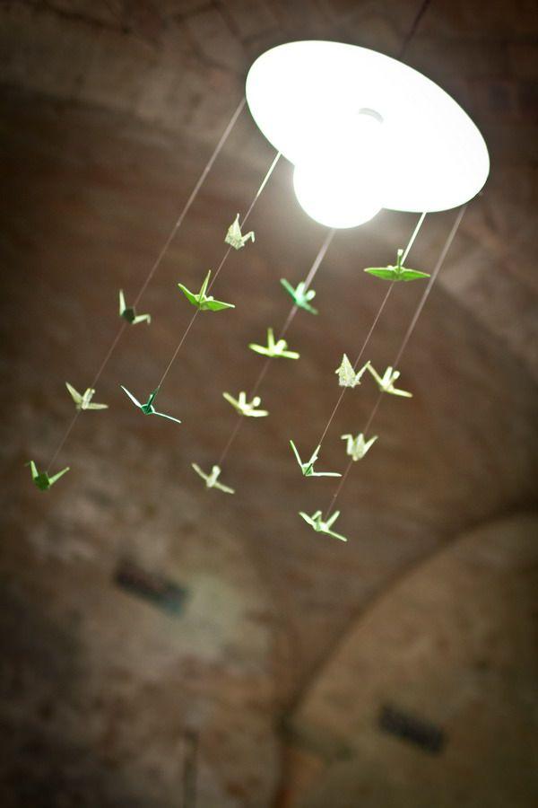 lampe et origami