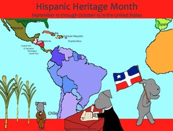 In celebration of National Hispanic Heritage Month (September 15 through October…