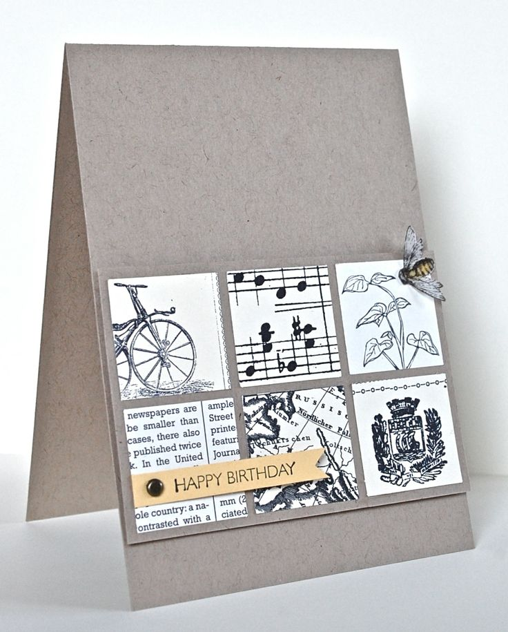 Card Making Ideas For Men Part - 23: Stampinu0027 Up Ideas And Supplies From Vicky At Crafting Clareu0027s Paper  Moments: Three Minute Grid Card Using DP. Great Masculine Card Using Square  Punch, ...