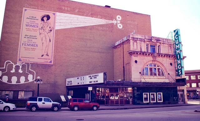 Burton Cummings Theatre by ajbatac, via Flickr. Winnipeg, Manitoba