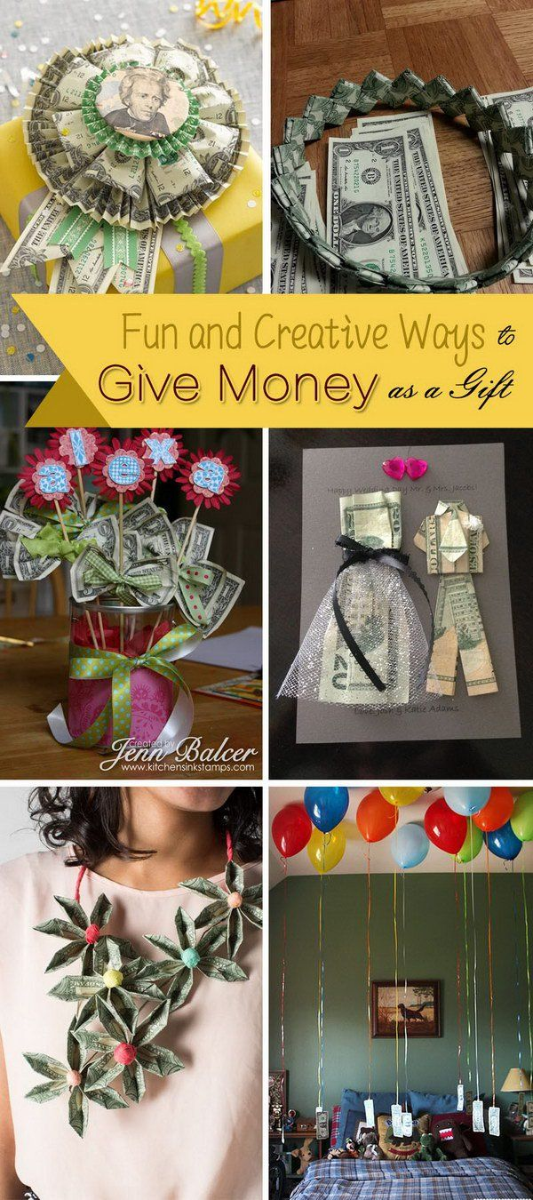 Fun and Creative Ways to Give Money as a Gift!