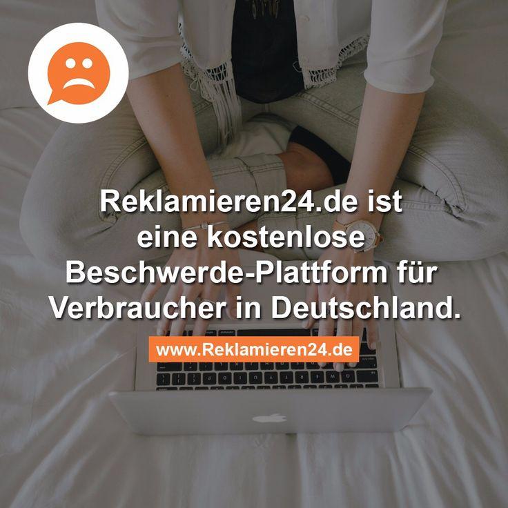 www.reklamieren24.de #beschwerde plattform #startup #reklamieren24 #reklamation #verbraucherschutz #vomProblemZurLösung