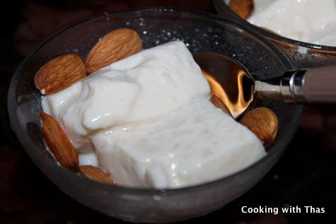 Tender Coconut Pudding - Best South Indian Dessert Recipe   Cooking with Thas