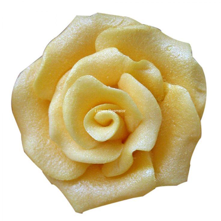 Trandafiri mici 20 buc auriu