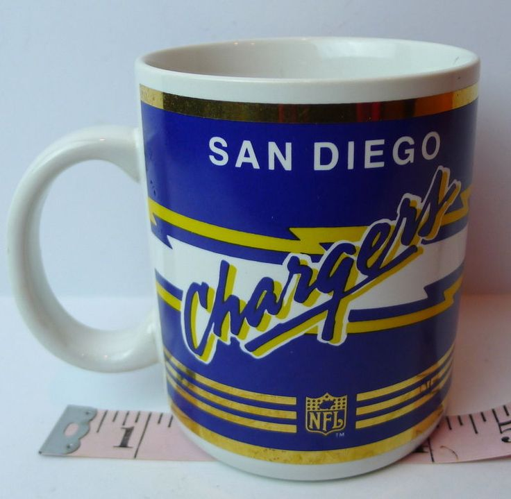 San Diego Chargers NFL Licensed Mug Collectible RETIRED - Gone Forever TEAM! #Papel #SanDiegoChargers