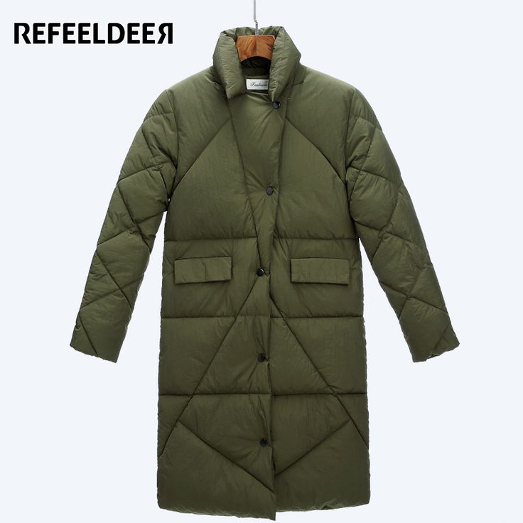 >> Click to Buy << New Arrivals Women Parkas 2017 Autmn Winter Jacket Women's Cotton Padded Female Jacket Winter Fashion Long Cheap Coat For Snow #Affiliate