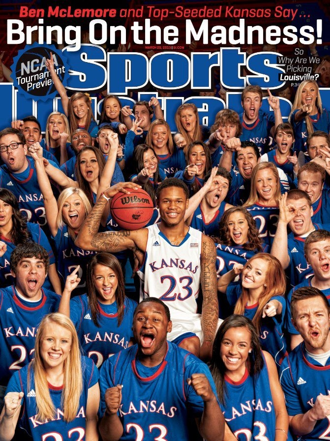 Emily on the Cover! March Madness
