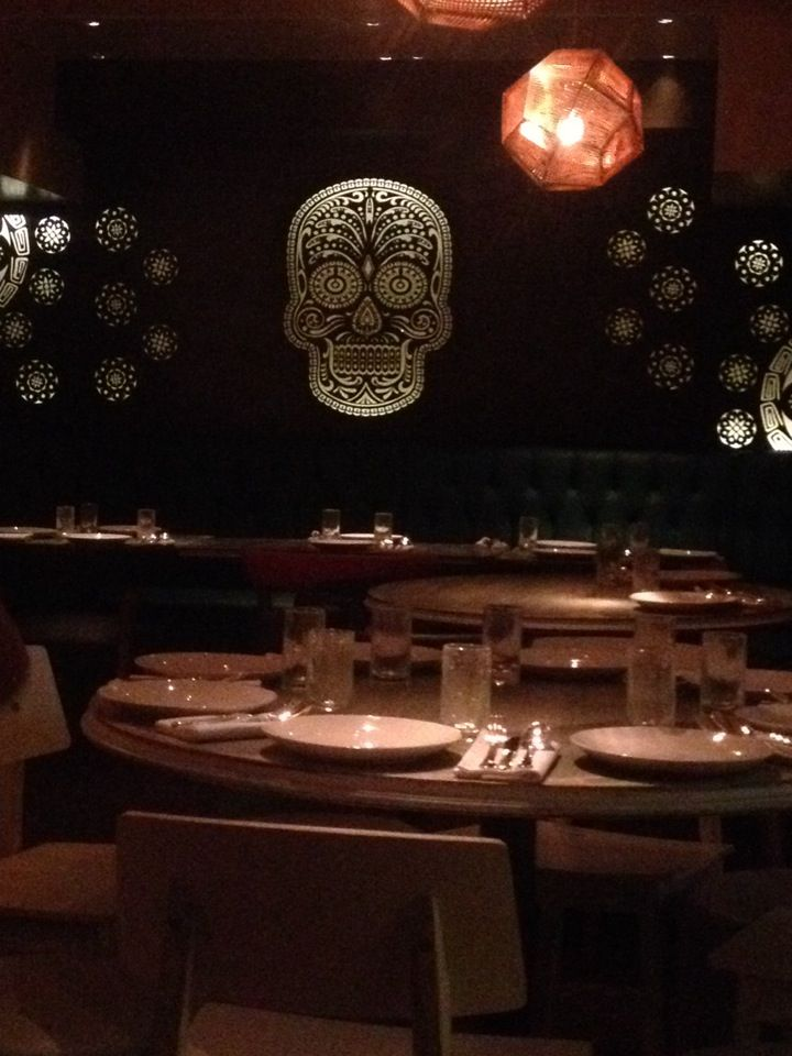 (eat) PEYOTE @ MAyfair // 13-14 Cork Street, London, W1S 3NS // Tel: 020 7409 1300 >>>> Tarun Mahrotri and Arjun Waney (Zuma, Roka) have launched a Mexican restaurant and bar on the former site of Aurelia in Mayfair. Peyote's menu includes ceviche, tacos and tostadas, alongside contemporary dishes like lamb cutlets with mint habanero and Chilean sea bass with coriander and pineapple sauce. The bar will offer a select wine list, cocktails, and over 100 different kinds of tequila and mezcal.