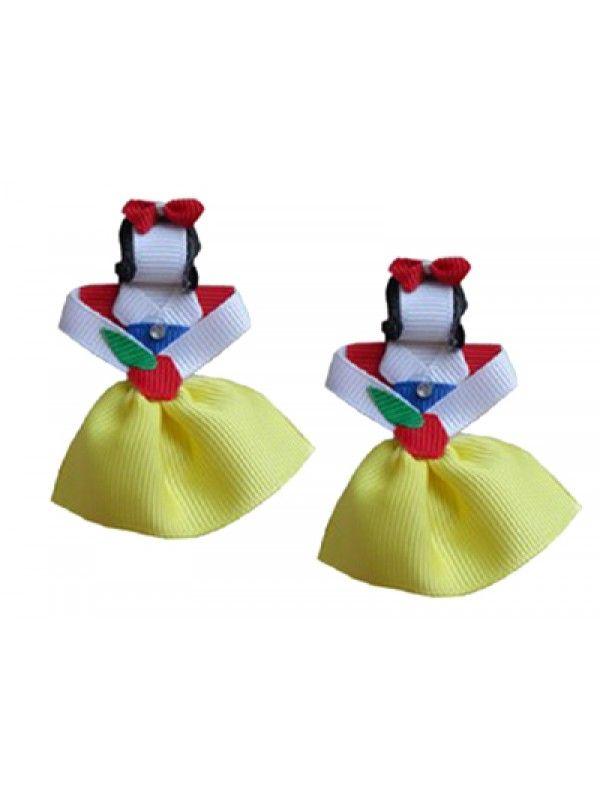 Acessorio de Cabelo Infantil Branca de Neve - Happy Girl
